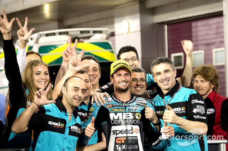 Le troisième, Simone Corsi, Speed Up Racing, Speed Up