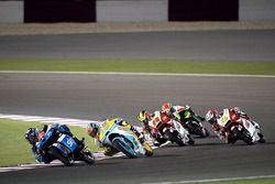 Andrea Migno, SKY Racing Team VR46, KTM; Gabriel Rodrigo, RBA Racing Team, KTM; Khairul Idham Pawi,