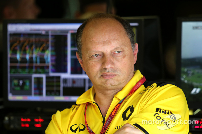 Frederic Vasseur, Renault Sport F1 Team, Renndirektor