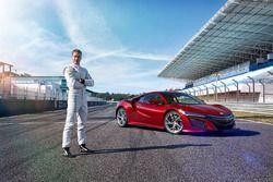 Stoffel Vandoorne test Honda NSX