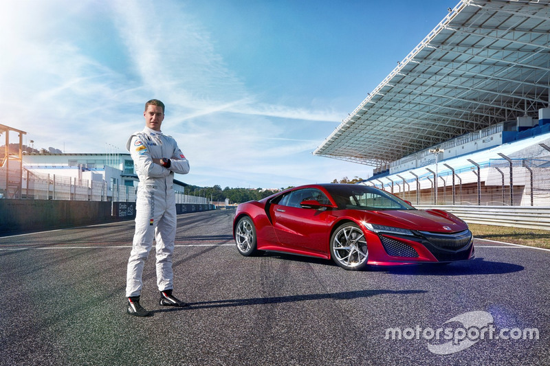 Stoffel Vandoorne und der Honda NSX