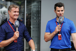 David Coulthard et Steve Jones, Channel 4 F1