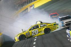 Matt Kenseth, Joe Gibbs Racing Toyota kaza