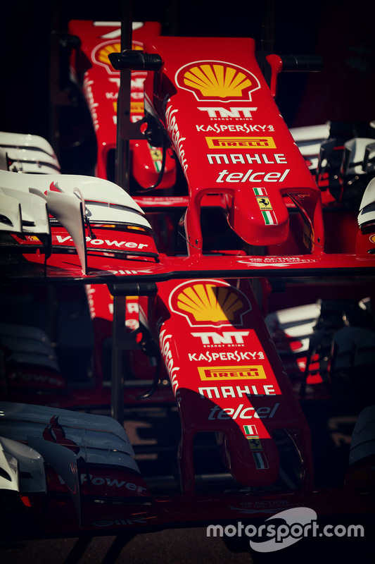 Ferrari SF16-H front wings
