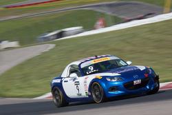 #9 Atlanta Motorsports Mazda MX-5 Cup: Forrest Landy