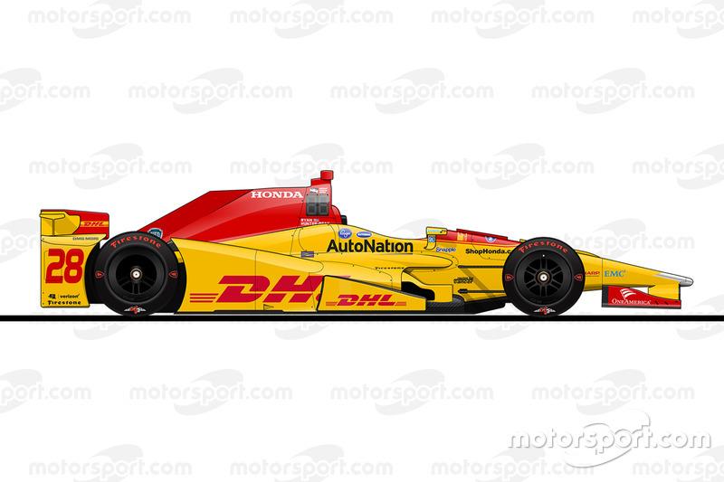 3. Райан Хантер-Рей, Andretti Autosport Honda