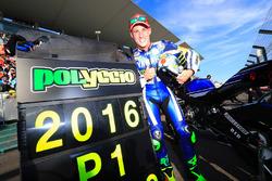 Ganaodr de la pole #21 Yamaha Factory Racing Team: Pol Espargaró