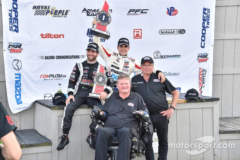 Sieger Santiago Urrutia, Schmidt Peterson Motorsports; 2. André Negrao, Schmidt Peterson Motorsports
