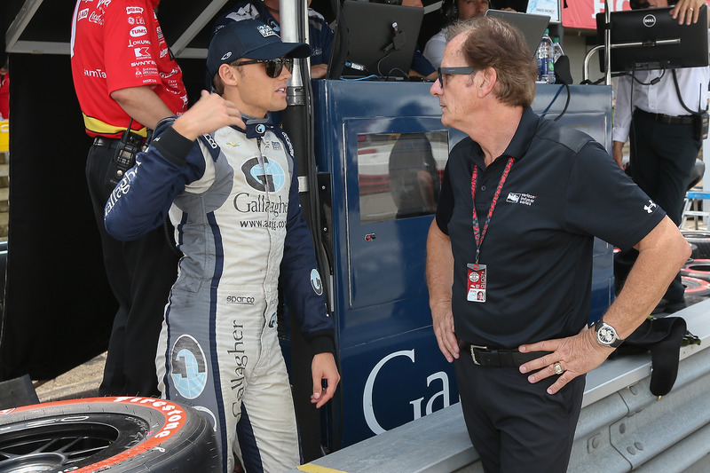Max Chilton, Chip Ganassi Racing Chevrolet, Arie Luyendyk