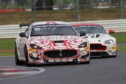 #150 Villorba Corse, Maserati GT MC GT4: Piotr Chodzen, Antoni Chodzen
