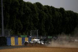 Crash, #30 Extreme Speed Motorsports Ligier JS P2 Nissan: Scott Sharp, Ed Brown, Johannes van Overbe
