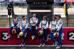 #35 Baxi DC Racing Alpine A460 Nissan: David Cheng, Ho-Pin Tung, Nelson Panciatici; #36 Signatech Alpine A460: Gustavo Menezes, Nicolas Lapierre, Stéphane Richelmi