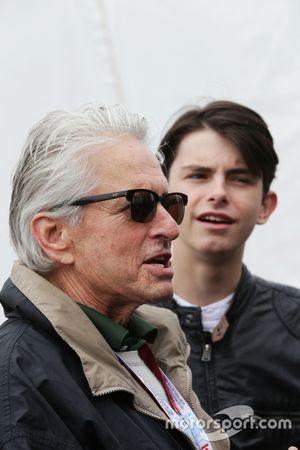 Michael Douglas, acteur et son fils Dylan Douglas