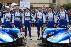 #36 Signatech Alpine A460: Gustavo Menezes, Nicolas Lapierre, Stéphane Richelmi and #35 Baxi DC Raci