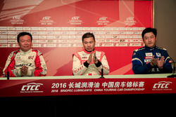 Qualifying top three of China Cup