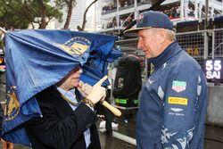 Jean Todt, FIA Başkanı ve Dr Helmut Marko, Red Bull Motorsporları Danışmanı