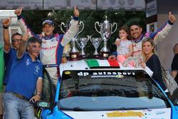 I vincitori Marco Signor e Patrick Bernardi, Sama Racing