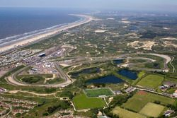 Zandvoort from the air