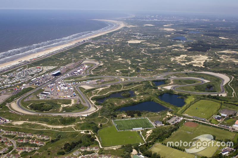 Zandvoort from the air