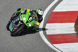 #8 Team Bolliger Switzerland, Kawasaki: Roman Stamm, Michael Savary, Gianluca Vizziello