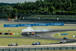 Esteban Ocon (FRA) Mercedes-AMG Team ART, Mercedes-AMG C 63 DTM, Martin Tomczyk, BMW Team Schnitzer,