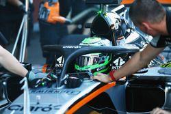 Nico Hulkenberg, Sahara Force India F1 VJM09 con el Halo