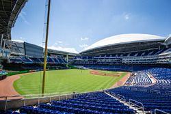 Marlins Park in Miami is gastheer van de Race of Champions 2017