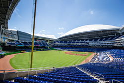 Marlins Park in Miami: Austragungsort des Race of Champions 2017