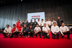 Nissan group photo