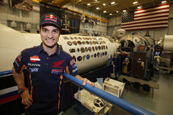 Dani Pedrosa, Repsol Honda Team, en visite au NASA Johnson Space Center