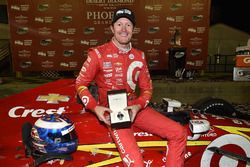 Le vainqueur Scott Dixon, Chip Ganassi Racing Chevrolet
