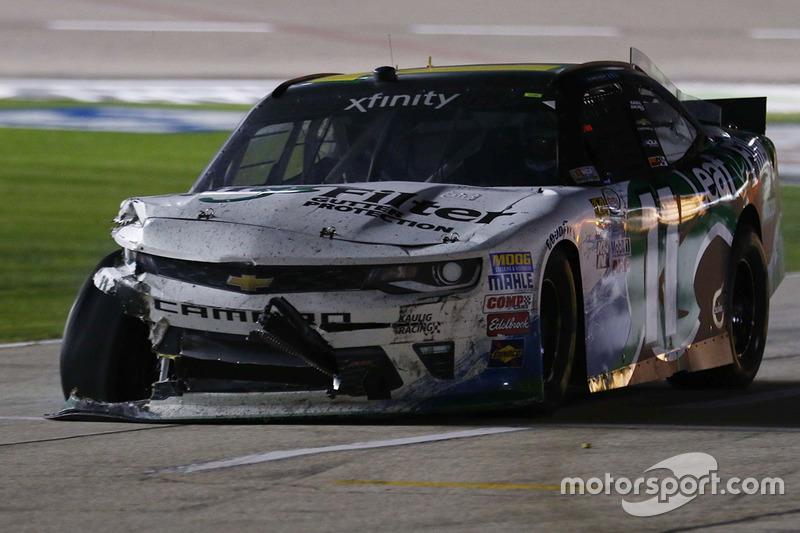 Trouble for Blake Koch, Chevrolet