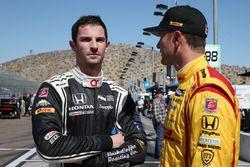 Alexander Rossi, Herta - Andretti Autosport Honda, et Ryan Hunter-Reay, Andretti Autosport Honda