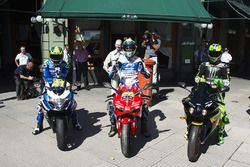 Aleix Espargaro, Team Suzuki MotoGP, Yonny Hernandez, Aspar Racing Team, Pol Espargaro, Monster Yama