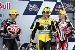Kwalificatie: tweede Johann Zarco, Ajo Motorsport, Kalex; eerste Alex Rins, Paginas Amarillas HP 40,
