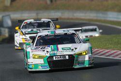 #28 Land Motorsport, Audi R8 LMS: Marc Basseng, Connor de Phillippi, Timo Scheider, Mike Rockenfeller
