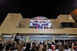 Podium: winner Nico Rosberg, Mercedes AMG F1 Team, second place Kimi Raikkonen, Ferrari, third place Lewis Hamilton, Mercedes AMG F1 Team