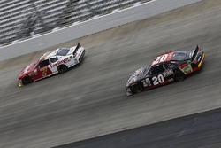 Justin Allgaier, JR Motorsports Chevrolet, Erik Jones, Joe Gibbs Racing Toyota