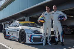Alex Sims and Steve Richards, BMW Team SRM