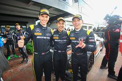 Race winnaars #84 HTP Motorsport, Mercedes-AMG GT3: Maximilian Buhk, Dominik Baumann, Jazeman Jaafar