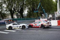Eric Cayrolle, Didier Moureu, Ginetta G55 GT4; Alessandro Fogliani, Patrick Zamparini, Villorba Corse, Maserati GranTurismo MC GT4