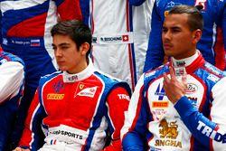 Giuliano Alesi, Trident en la foto de clase de GP3 series