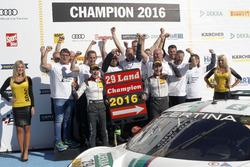 Meister 2016, #29 Montaplast by Land-Motorsport, Audi R8 LMS: Connor De Phillippi, Christopher Mies