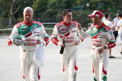 Rob Huff, Honda Racing Team JAS, Honda Civic WTCC, Norbert Michelisz, Honda Racing Team JAS, Honda C