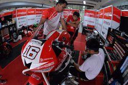 Astra Honda Racing Team team area