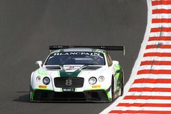 #8 Bentley Team, M-Sport Bentley Continental GT3: Andy Soucek, Maxime Soulet