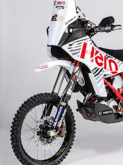 Moto de CS Santosh, Hero MotoSports Team Rally