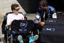 Attila Tassi, B3 Racing Team Hungary and Dusan Borkovic, B3 Racing Team Hungary