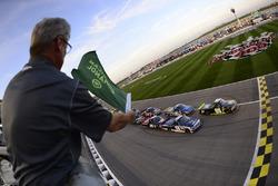 Start: John Wes Townley, Athenian Motorsports, Chevrolet führt