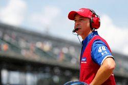 Chad Knaus, crew chief voor Jimmie Johnson, Hendrick Motorsports Chevrolet